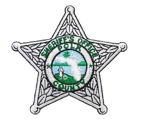 Polk County Sheriff`s Office Silver Patch