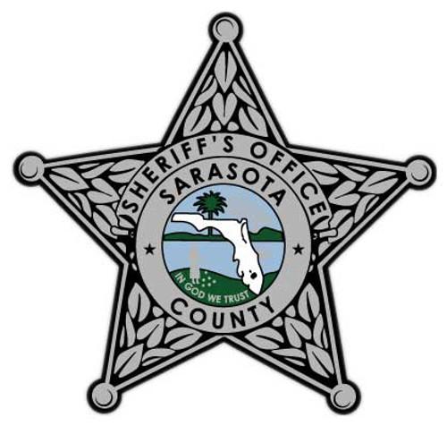 Sarasota CSO Silver Star Patch