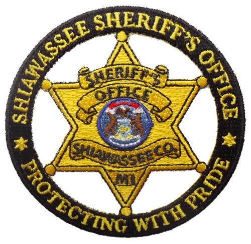 MI Shiawassee Sheriff`s Office Badge Patch