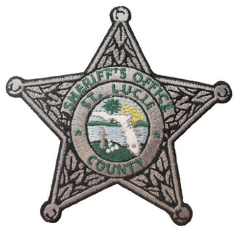 St. Lucie Silver Star Patch