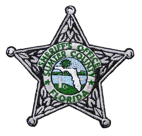 Sumter County Sheriff`s Office Silver Patch