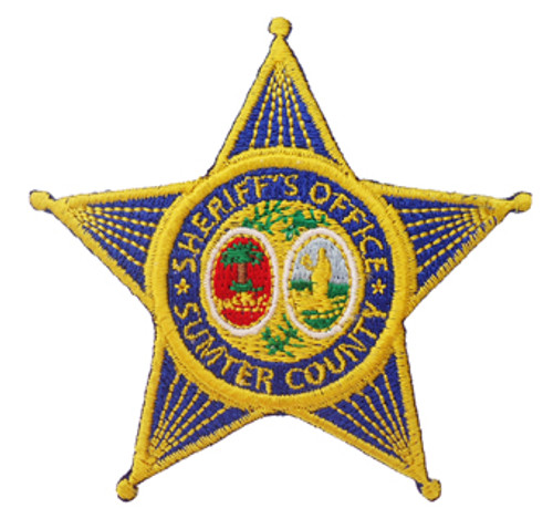 SC Sumter County Sheriff`s Office Blue Star Patch