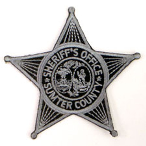 Sumter County SC Sheriff's Office Subdued Patch