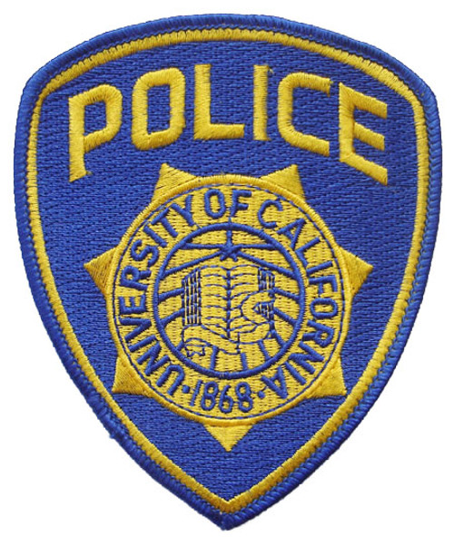 University of California Police Patch