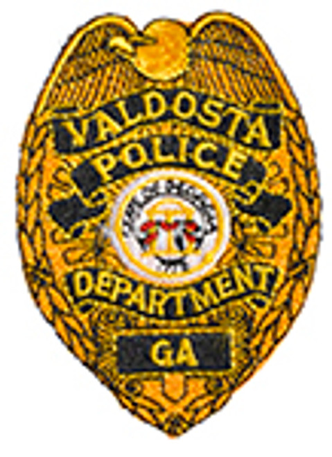 VALDOSTA GEORGIA POLICE BADGE PATCH