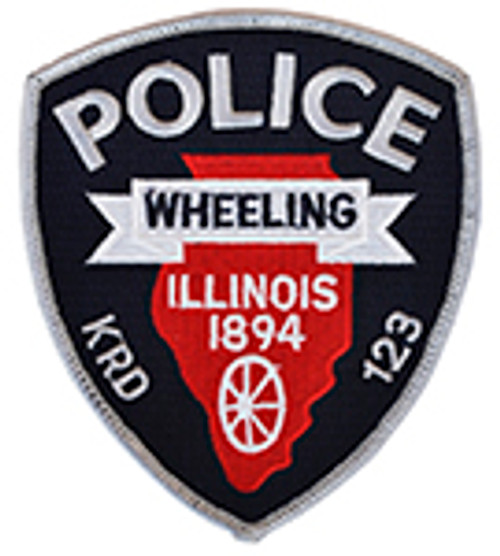 WHEELING ILLINOIS POLICE PATCH