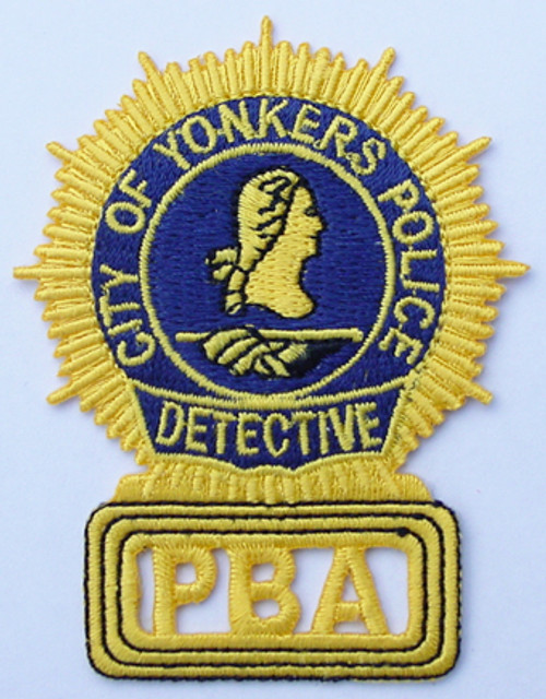 Yonkers PBA Detective Patch
