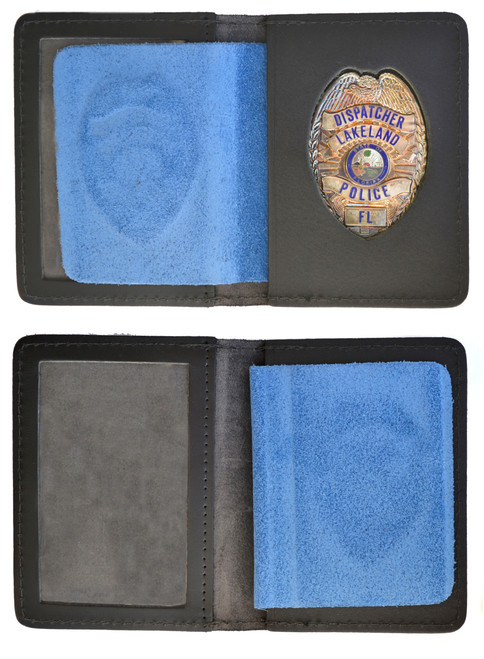 ID Case with Lakeland Florida Police Diapatch Cutout