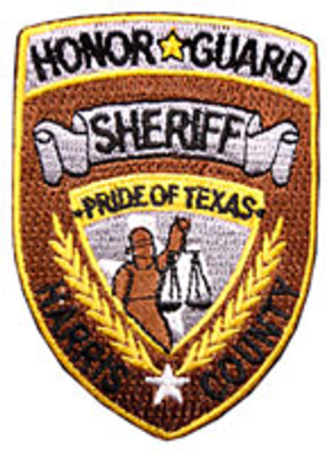 Harris County Sheriff's Office Honor Patch