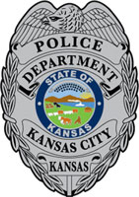 Kansas City Kansas PD Silver Badge Patch