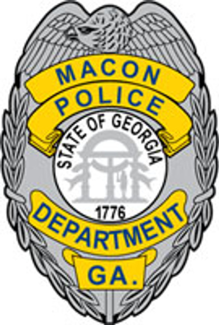 Macon Police Badge Patch