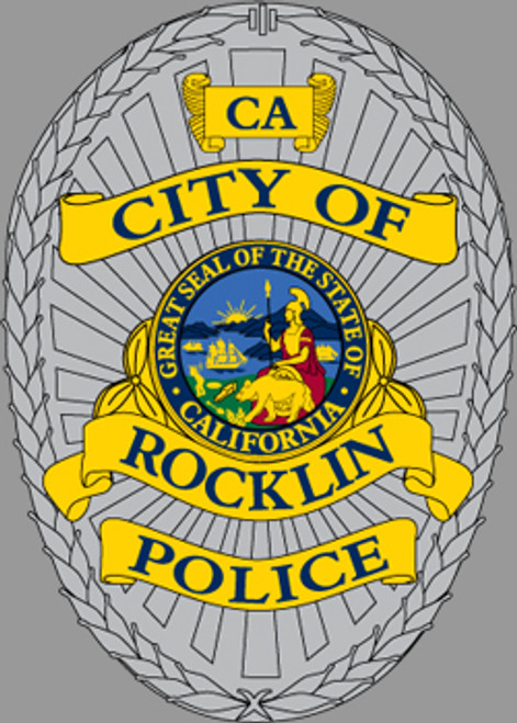 Rocklin Police Department Badge Patch