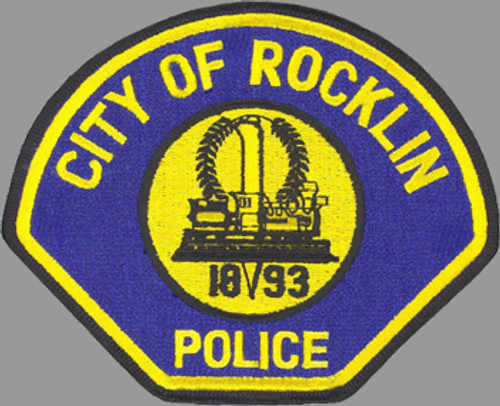 Rocklin Police Department Patch
