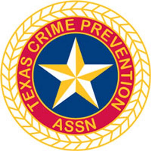 Texas Crime Prevention Association Patch
