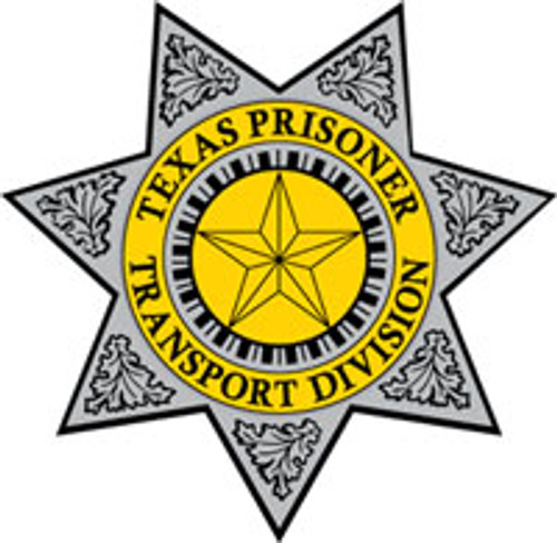 Texas Prisoner Transportation Division Patch
