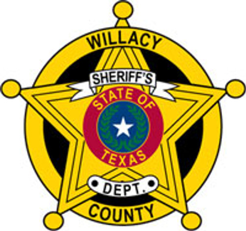 Willacy County Sheriff's Badge Patch