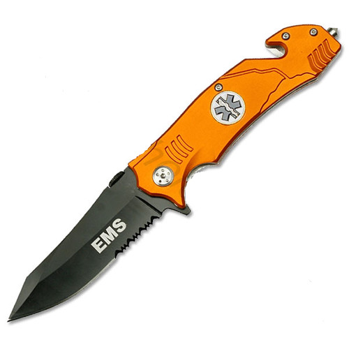 EMS Rescue Folder Spring Assist Knife