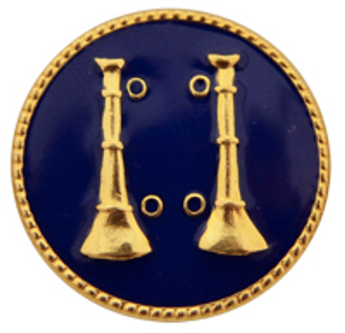 2 - Vertical Bugles (Gold-Blue)