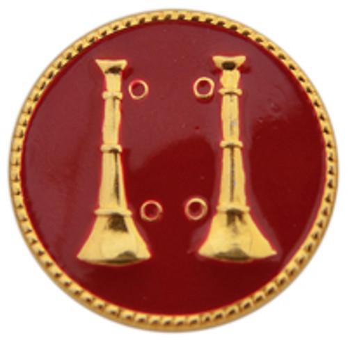 2 - Vertical Bugles (Gold-Red)