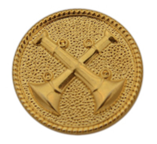 2 - Crossed Bugle (Gold)