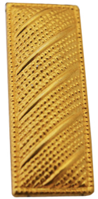 Corrugated Lieutenant (Small-Gold)