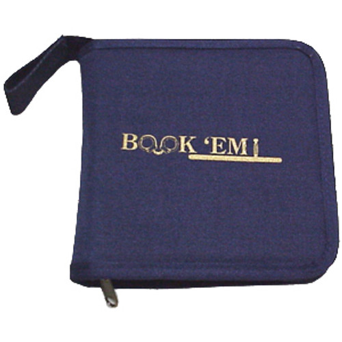 Book 'Em CD Case Navy
