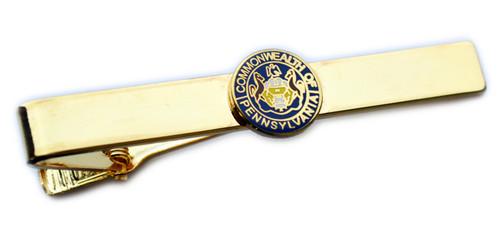 Pennsylvania State Seal Tie Bar (Gold)