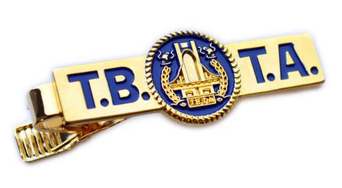 Triborough Bridge & Tunnel  Logo Tie Bar (Gold)