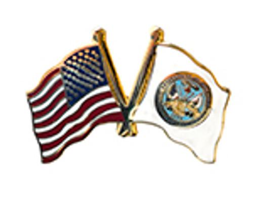 USA Flag / US Army Flag Lapel Pin
