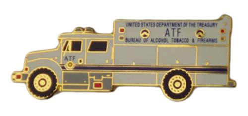 ATF Truck Lapel Pin
