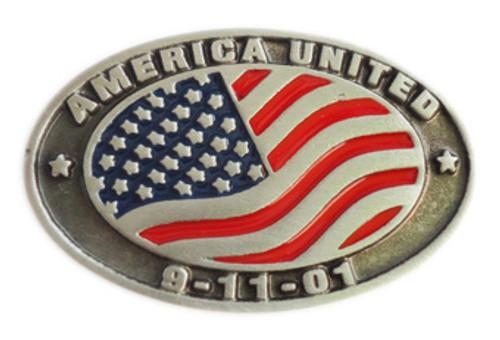 America United 9-11-01 Lapel Pin