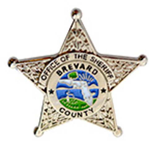 Brevard County Florida Office of the Sheriff Lapel Pin