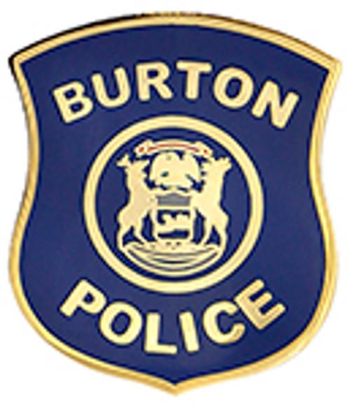 BURTON POLICE LAPEL PIN
