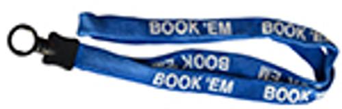 LANYARD, LIGHT BLUE, Book'em