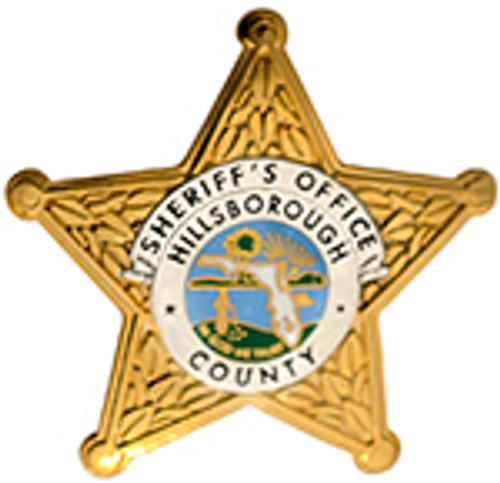 HILLSBOROUGH COUNTY SHERIFF'S DEPARTMENT BADGE LAPEL PIN