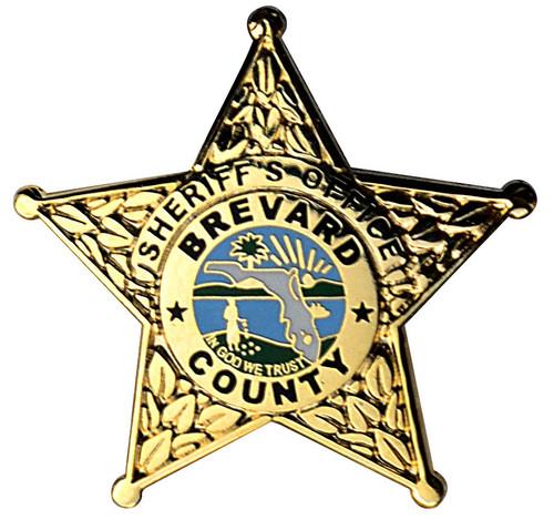 BREVARD COUNTY SHERIFF'S OFFICE BADGE LAPEL PIN