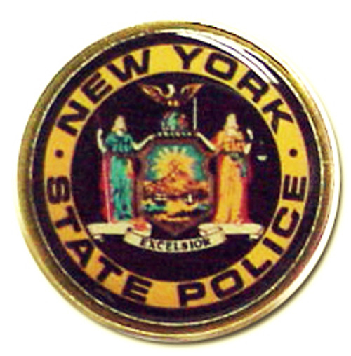 New York State Police Seal Lapel Pin