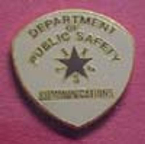 Texas Communications Lapel PIn