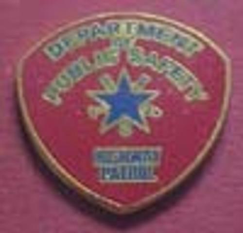 Texas Highway Patrol Lapel Pin