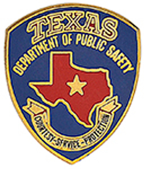 TEXAS DEPARTMENT OF PUBLIC SAFETY LAPEL PIN