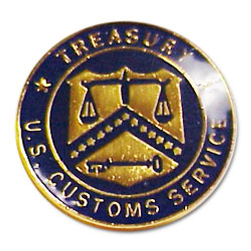 U.S. Customs Seal Pin