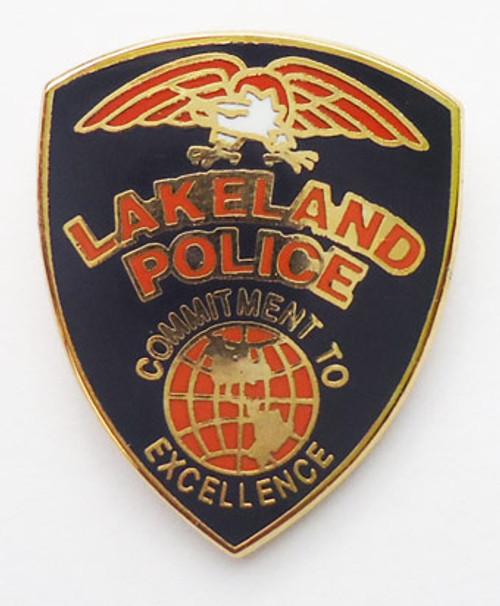 Lakeland Police Lapel Pin