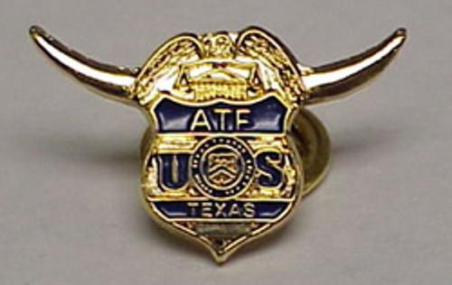 ATF Texas Lapel Pin