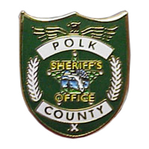Polk County Sheriff's Office Patch Lapel Pins
