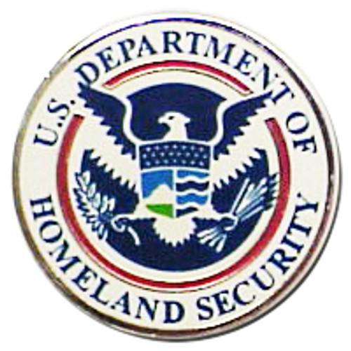 U.S. Homeland Security Pin
