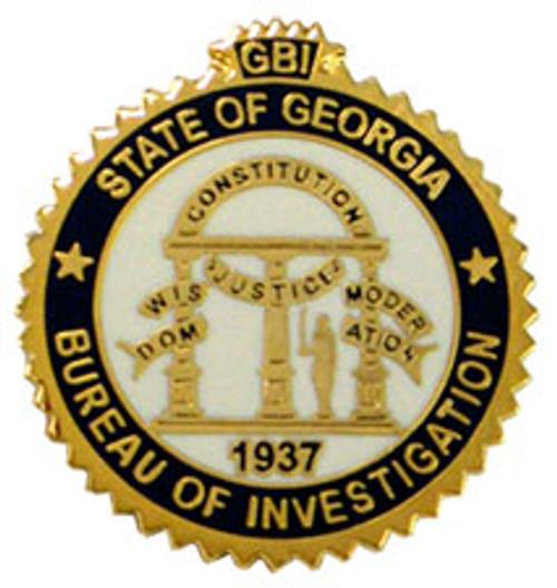 Georgia Bureau of Investigation Pin