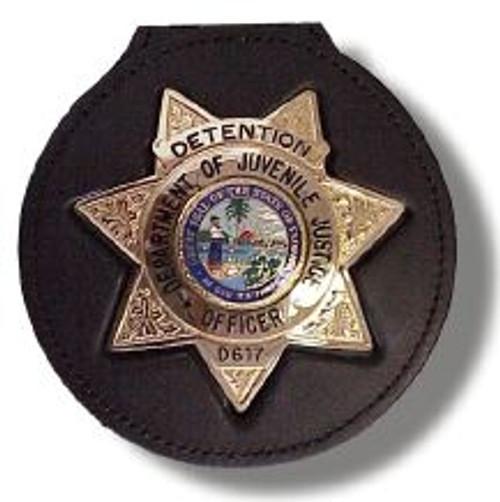 DJJ Badge Belt Clip