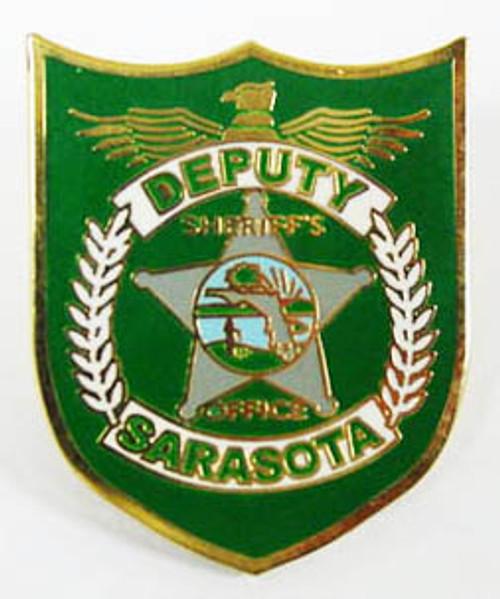 Sarasota Deputy Sheriff`s Office Lapel Pin