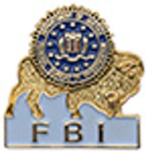 FBI BUFFALO LAPEL PIN