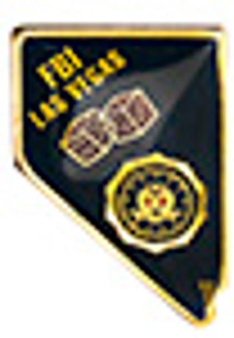 FBI LAS VEGAS LAPEL PIN
